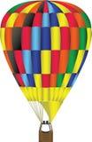 Heißluft-Ballon-Abbildung Lizenzfreie Abbildung