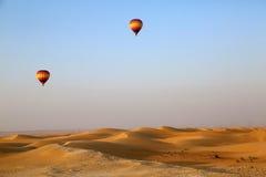 Heißluft-Ballon, Dubai Lizenzfreie Stockfotografie