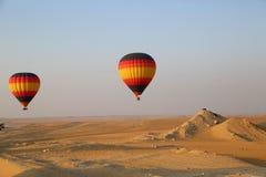 Heißluft-Ballon, Dubai Lizenzfreies Stockfoto