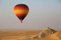 Heißluft-Ballon, Dubai Stockfotos