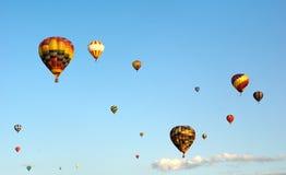 Heißluft-Ballon-Festival Stockfotografie