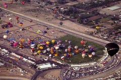 Heißluft-Ballon-Festival Albuquerques Stockfotos