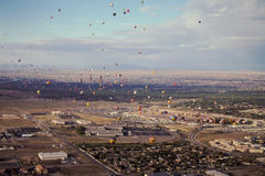 Heißluft-Ballon-Festival Albuquerques Stockbilder