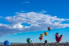 Heißluft-Ballon-Fiesta 2016 Albuquerques Lizenzfreie Stockfotos
