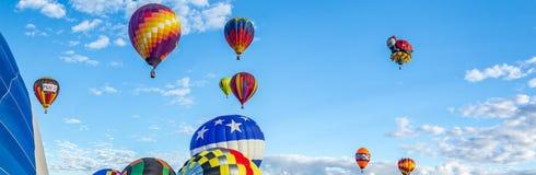 Heißluft-Ballon-Fiesta 2016 Albuquerques Stockfoto