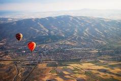 Heißluft-Ballon Kapadokya die Türkei Lizenzfreies Stockbild