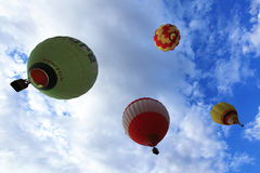 Heißluft-Ballon Putrajaya Stockbild