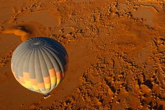 Heißluft-Ballon-Sonnenaufgang Stockbilder