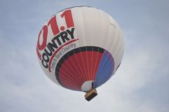 Heißluft Ballon während des Gatineau-Ballon-Festivals Lizenzfreies Stockfoto
