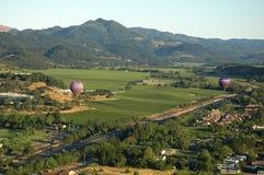 Heißluft-Ballone Stockbilder