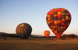 Heißluft-Ballone Stockfoto