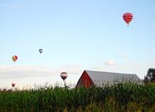 Heißluft-Ballone Lizenzfreies Stockbild