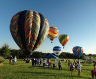 Heißluft-Ballone Stockfotos