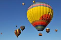 Heißluft-Ballone Lizenzfreie Stockfotos