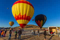 Heißluft Ballone Stockfotografie
