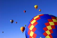 Heißluft-Ballone Lizenzfreie Stockbilder