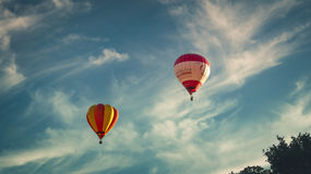 Heißluft Ballone Lizenzfreie Stockbilder