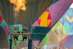 Heißluft Ballone lizenzfreie stockfotos