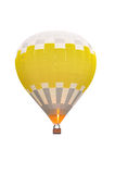 Heißluft-Ballone im Flug über blauem Himmel lizenzfreie stockfotos
