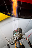 Heißluft Ballonmaschine Stockfoto