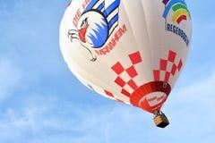 Heißluft Ballonprodukteinführung Lizenzfreies Stockfoto
