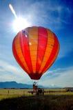 Heißluft baloon stockfotografie