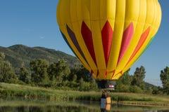 Heißluft Baloon Stockbild