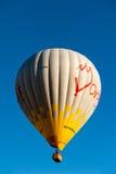 Heißluft baloons in Cappadocia die Türkei stockbilder