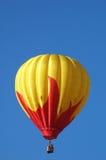 Heißluftballon über Iowa Lizenzfreies Stockfoto
