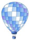 Heißluftballon lizenzfreie abbildung