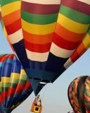Heißluftballon Stockbild