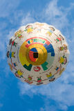 Heißluftballon der Kinder Stockfoto