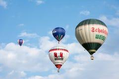 Heißluftballon Festival Stockfotografie