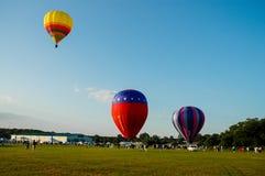 Heißluftballon Festival Stockbilder