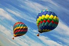 Heißluftballon im New-Jersey Ballon-Festival Stockfoto