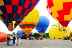 Heißluftballon 2010 Malaysias Lizenzfreies Stockfoto