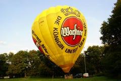 Heißluftballon photgrphed beim Bealton, VA-Flugwesen-Zirkus-Flugschau Stockfotografie