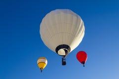 Heißluftballon photgrphed beim Bealton, VA-Flugwesen-Zirkus-Flugschau stockfoto