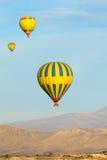 Heißluftballone stockbilder