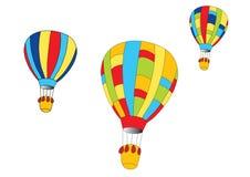 Heißluftballone vektor abbildung