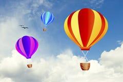 Heißluftballone Stockfotografie