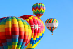 Heißluftballone Lizenzfreie Stockfotografie