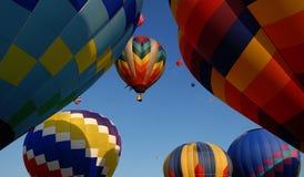 Heißluftballone Stockbild