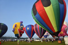 Heißluftballone in Immokalee Florida Stockfotos