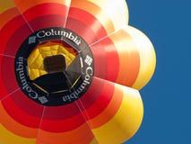 Heißluftballone in Mondovì, Italien Stockbild