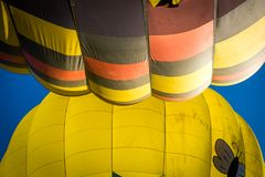 Heißluftballone Napa Valley stockbild