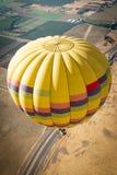 Heißluftballone Napa Valley lizenzfreie stockfotos