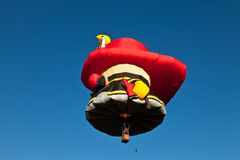 Heißluftballonfeuerwehrmann Stockbilder
