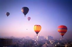 Heißluftballonsafari 1986 stockfotografie