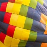 Heißluftballonzusammenfassungshintergrund stockfotos